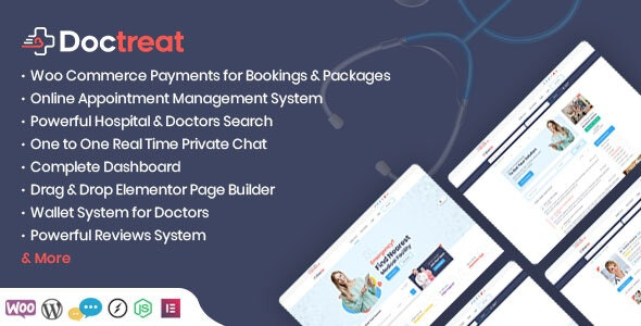 Doctreat – Doctors Directory WordPress Theme – 24867777 Free Download
