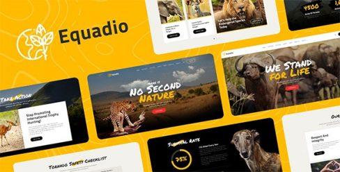 Equadio – Non-Profit and Environmental WordPress Theme – 26692522