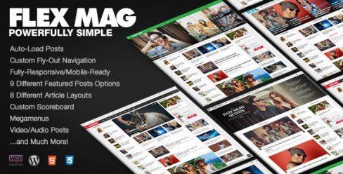 Flex Mag – Responsive WordPress News Theme – 12772303