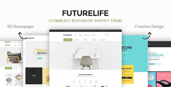 Futurelife - eCommerce Responsive Shopify Theme - 17387835