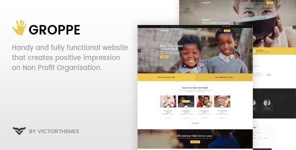 Groppe - Nonprofit WordPress Theme - 20351940