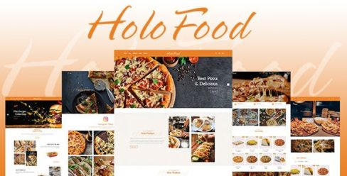 HoloFood – Fast Food & Restaurant Shopify Theme – 25570363