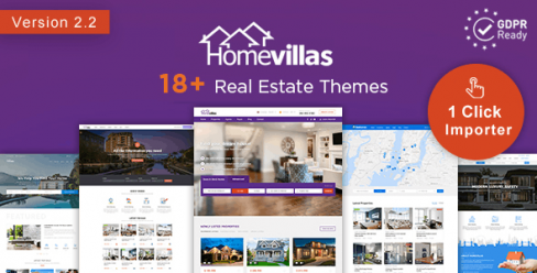 Home Villas | Real Estate WordPress Theme – 19446059