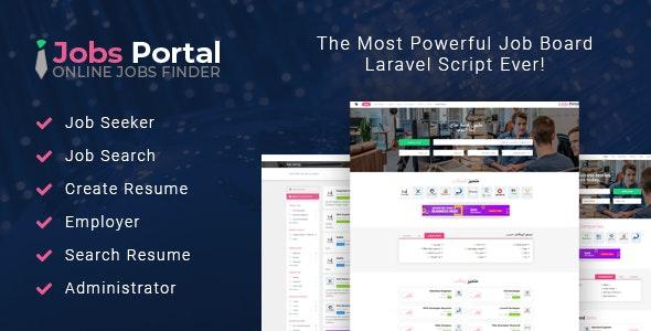 Jobs Portal – Job Board Laravel Script – 22607607 Free Download