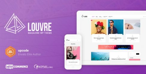 Louvre – Minimal Magazine and Blog WordPress Theme – 19842561