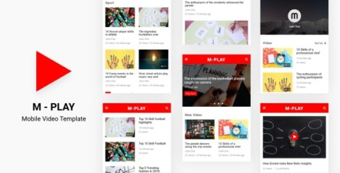 M-PLAY – Mobile Video Template – 21357604