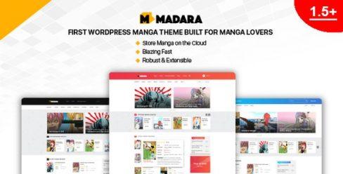 Madara – WordPress Theme for Manga – 20849828
