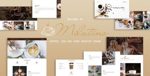 Milatino – Coffee & Tea and Cake Shopify Theme – 25507987