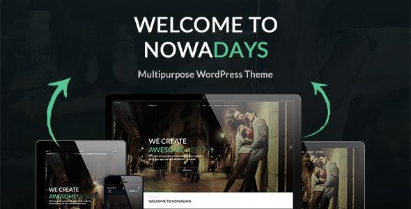 NowaDays – Multipurpose WordPress Theme – 18399207 Free Download