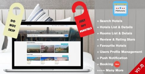 PSHotels Website (Ultimate Hotels Finder Website With Backend) 1.3 – 21672782