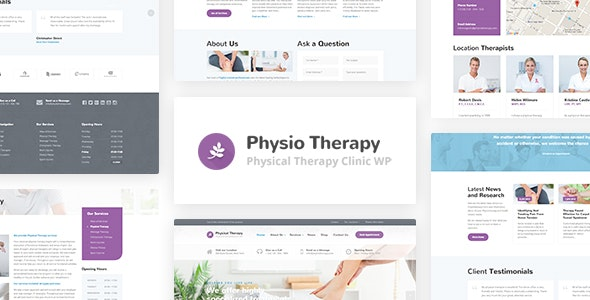 Physio – Physical Therapy & Medical Clinic WP Theme – 14747135 Free Download