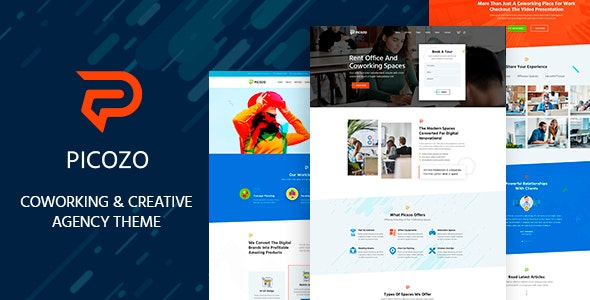 Picozo – Coworking and Office Space WordPress Theme – 29422650 Free Download