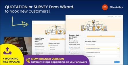 Quote - Quotation or Survey Form Wizard - 19296301