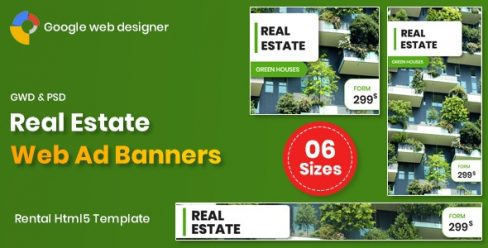 Real Estate Banners Google Web Designer – 26239852