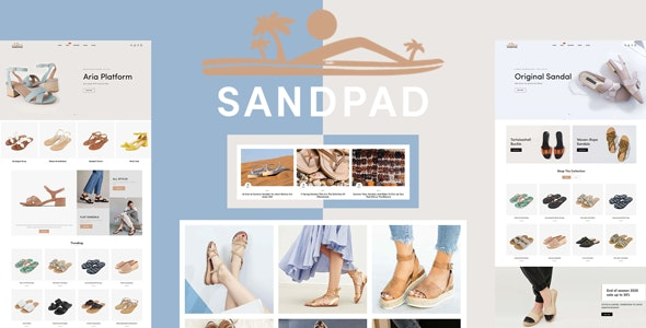 Sandpad - Sandals And Footwear Shoes Responsive Shopify Theme - 26873808