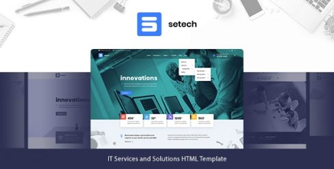 Setech – IT Services and Solutions HTML Template – 26821931