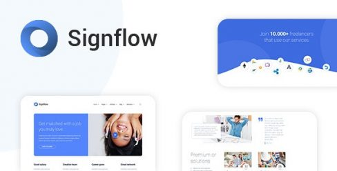 Signflow – Tech And Startup Template – 21297671