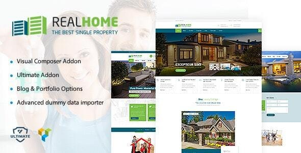 Single Property WordPress - 18767950