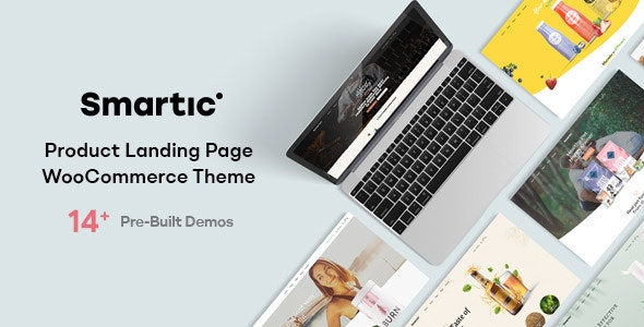Smartic – Product Landing Page WooCommerce Theme – 29259690 Free Download