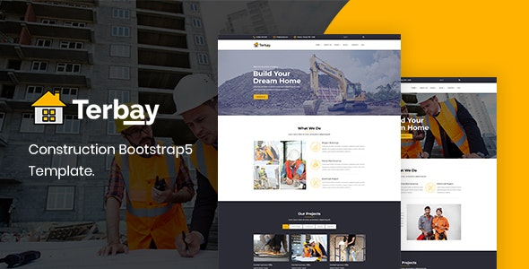 Terbay – Construction Bootstrap5 Template – 29703821 Free Download