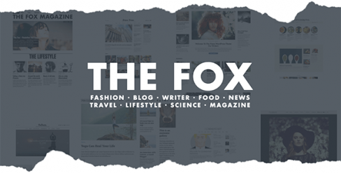The Fox – Modern Blog Magazine Theme – 11103012