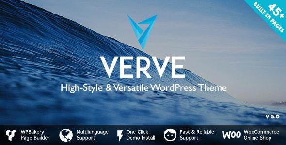 Verve – High-Style WordPress Theme – 14758884 Free Download