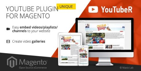 YouTubeR – unique YouTube video gallery for Magento – 17449944