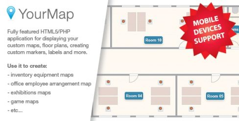 YourMap – customizable maps with back-end panel – 6503550