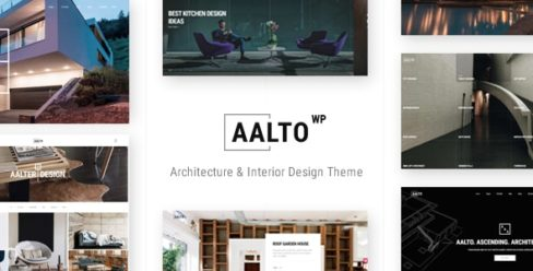 Aalto – Architecture and Interior Design Theme – 21145064