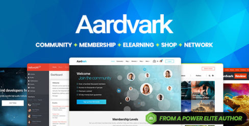 Aardvark – Community, Membership, BuddyPress Theme – 21281062