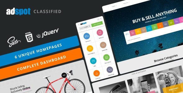 AdSpot – Authentic Classified Template – 17378585 Free Download