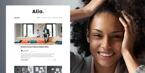 Alia – Minimal Personal Blog – 21817200