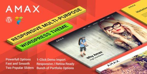 Amax — Responsive Multi-Purpose WordPress Theme – 11458572