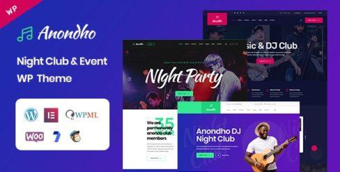 Anondho – Night Club & Event WordPress Theme – 25195597