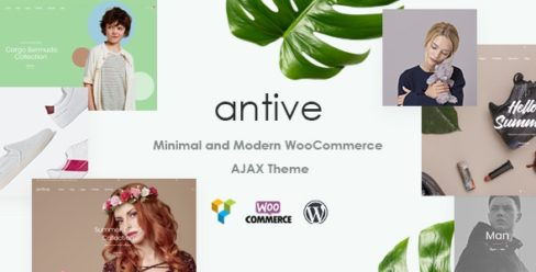 Antive – Minimal and Modern WooCommerce AJAX Theme (RTL Supported) – 21964624