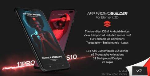 App Promo Builder for Element 3D – 24884226