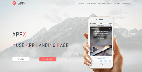 Appx_Muse App Landing Page – 19646990
