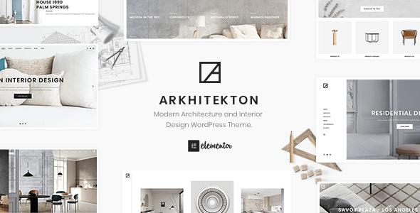 Arkhitekton – Modern Architecture and Interior Design WordPress Theme – 23443282 Free Download