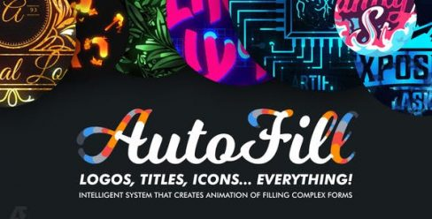AutoFill – Automatically Animate Titles, Logo Reveals, Animate Icons – 25015480