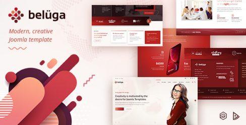 Beluga – Modern Clean Creative Joomla Template – 22818558