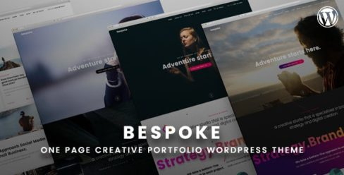 Bespoke – Onepage Creative WordPress Theme – 22380811