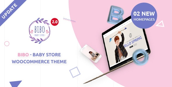 Bibo Baby Store & Kids Shop WooCommerce WordPress Theme – 19014302 Free Download
