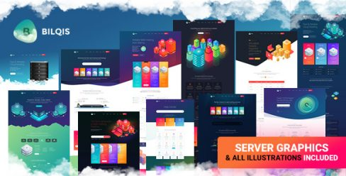 Bilqis – The Hosting PSD Template – 22881368