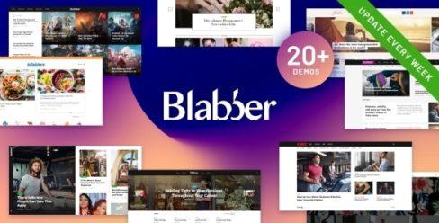 Blabber | All-in-One Elementor Blog & News Magazine WordPress Theme + RTL – 24305542