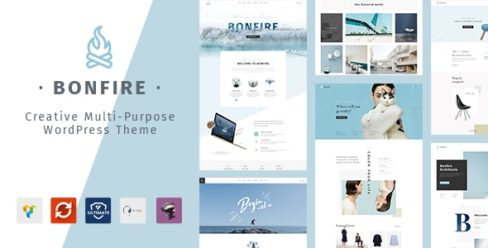 Bonfire – Creative Multipurpose WordPress Theme – 20280361