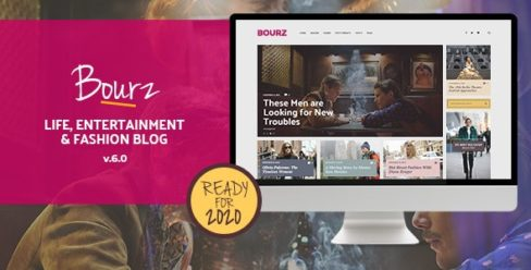 Bourz: Life, Entertainment & Fashion Blog Theme – 14026649