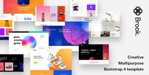 Brook – Creative Agency & Business HTML Template – 24226512