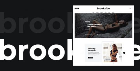 Brookside – Blog PSD Template – 23067229