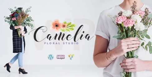 Camelia | A Floral Studio Florist WordPress Theme – 21070939