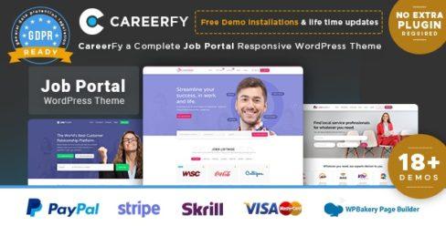 Careerfy – Job Board WordPress Theme – 21137053